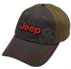 Jeep Enzyme Stone-Washed Cap