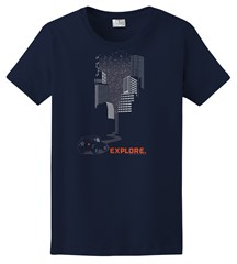 Explore City Women's T-Shirt