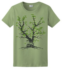 Closeout: Family Tree Women's T-Shirt, by All Things Jeep