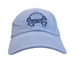 Jeep Skull & Crossbones Cap – Baby Blue