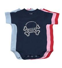 Jeep Skull & Crossbones Infant Creeper