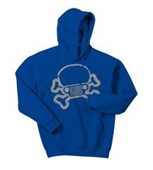 Jeep Skull & Crossbones Youth Hoodie