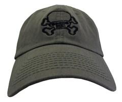 Jeep Skull & Crossbones Cap – Olive