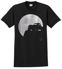 Jeep Full Moon Men's T-Shirt in Black