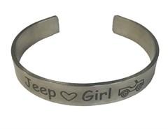 Jeep Cuff Bracelet, Jeep Girl