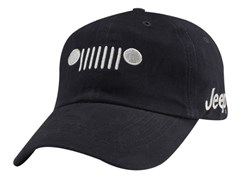 Jeep Grille Navy Twill Cap