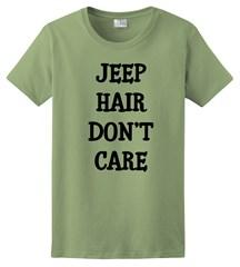Jeep Hair Don't Care Black Design Women's T-Shirt