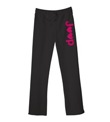 Jeep Hearts Women's Fit Sweatpants, Black