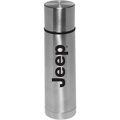 Jeep Logo Thermos in Stainless Steel