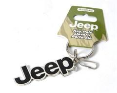 Jeep Logo Enamel Key Chain, Plasticolor