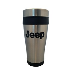 Jeep Logo Stainless Steel Travel Mug
