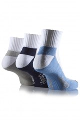 Jeep Men's Sports Ankle Socks (3-pack)
