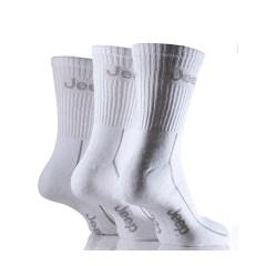 Closeout: Grey Jeep Men's Sport Socks (3-pack)