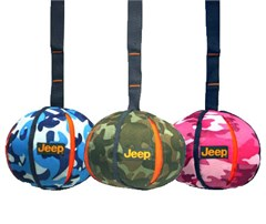 Jeep Nylon Camouflage Ball w/ 6 inch Strap