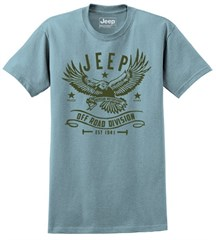 Jeep Off Road Division Men's T-Shirt in Stone Blue