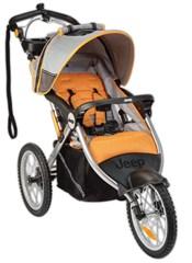 Jeep® Overland Limited Jogging Stroller