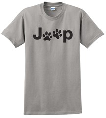 Jeep Dog Paw Men's T-Shirt