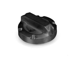 Brake Master Cylinder Cap, Jeep JK (2007-2011), Black