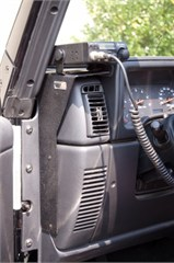 CB Radio Dash Mount, Jeep TJ (1997-2006) , LJ (2004-2006)