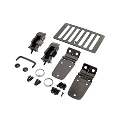 Hood Kit for Jeep TJ and LJ (1998-2006) in Black Chrome