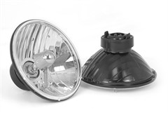 Round Crystal H2 Headlights, Jeep TJ (1997-2006)