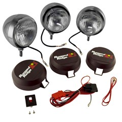 """Fog Light Kit, Round, HID, Stainless Steel Housing, 6"""" Inches"""