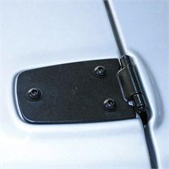 Hood Hinges for Jeep Wrangler TJ and LJ (1997-2006) in Black