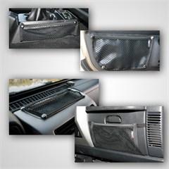 Mesh Storage Kit, Jeep TJ (1997-2006), LJ (2004-2006)