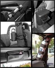 Interior Storage Kit, Jeep Wrangler JK (2007-2010)