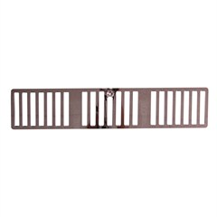 Cowl Vent Cover, Jeep TJ 1997, Stainless Steel