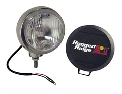 "Fog Light, Round, HID, Stainless Steel, 6"" Inch"