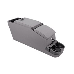 Ultimate Locking Console for Jeep CJ and YJ, 1976-1995, Gray