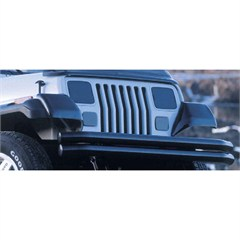 Molded Fender Guards, Jeep YJ (1987-1995), Smoke