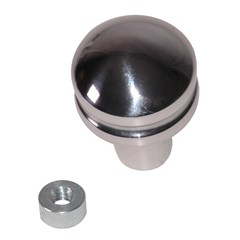 Billet Shift Knob, Blank - Jeep CJ, Wrangler YJ, TJ (1980-1998)