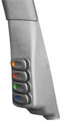 A-Pillar Switch Pod w/ 4 Switches Wrangler JK 2011-2017 Pssngr Dk Gray