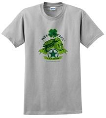 Shamrockin' Men's T-Shirt, Ice Gray