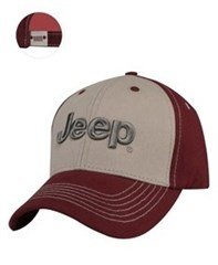 Jeep® 3D Silver Logo Cap
