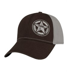 Jeep® Silver Star Logo Cap