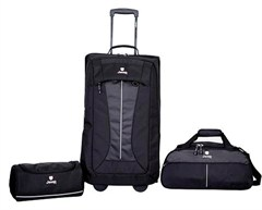 Jeep Soft Sided 3 Piece Duffel Set - Rust Color