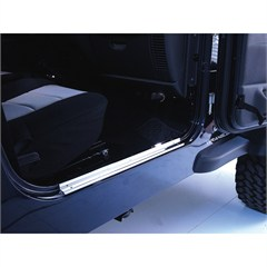 Stainless Steel Entry Guards - Jeep Wrangler TJ and LJ 1997-2006