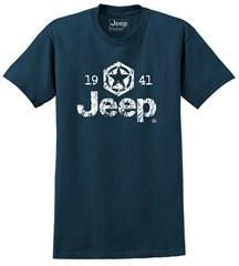 Jeep Star 1941 Men's T-Shirt in Heathered Midnight