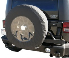 """Tire Cover 33-35"""" with Clear"""