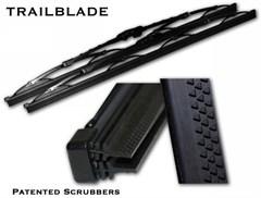 Trailblade Wiper Blade, Patented Dual Blade Technology 13-inch (each)