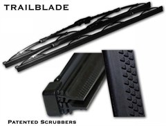 Jeep Cammander (06-07) Trailblade Wiper Blade, Patented Dual Blade Technology 14-inch (each)