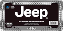 Jeep Treadplate License Plate Frame