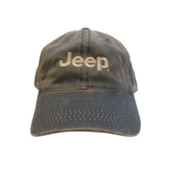 Jeep Weathered Cotton Twill Cap