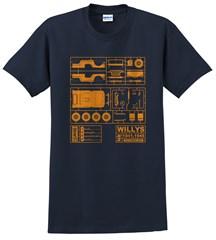 Willys Model Kit Unisex T-Shirt