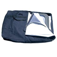 Black Window Storage Bag for Jeep CJ, YJ, and TJ (1976-2006)