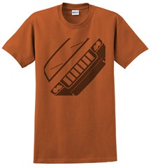 Jeep WK2 Grand Cherokee Front Silhouette Men's Tee