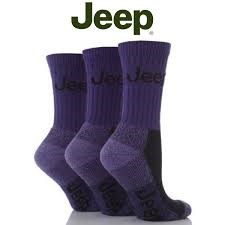 Closeout: Jeep Women's Luxury Boot Socks (3-pack), Plum